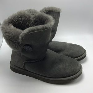 UGG Winter Boots Size 9 Gray